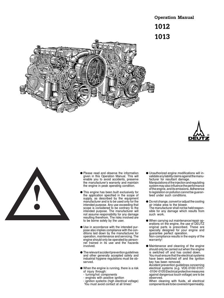 deutz bf6m 1013 operation manual internal combustion engine BMW Engine Schematic deutz bf6m 1013 operation manual internal combustion engine turbocharger