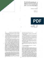 46001327 Godelier Maurice Racionalidad E Irracionalidad en Economia