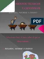 documentostcnicosycientficos-resumenensayoeinforme-101022192941-phpapp01