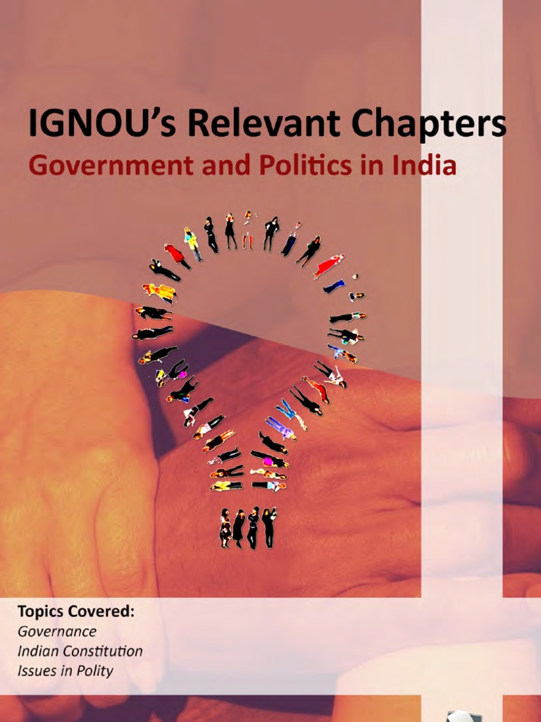 IGNOU Government and Politics in India  b7735df5fd889