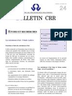 Bulletin CRR 24 1995