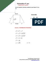 Calcular o lado obliquo do trapézio isósceles sabendo suas bases 10 cm, 14 cm e sua altura 2√3.