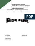 Trabajo de Derechos Humanos Para Enviar Por Correo