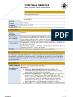 Estrategia didáctica - Exams, Exercises and Instructions