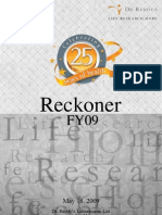 Dr. Reddy's FY09 Financial Reckoner