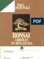 Bonsai, Arboles en Miniatura- español