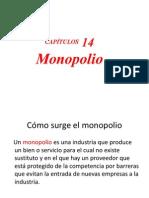 2013 - XIV - MICRO - Monopolio- SESION 14.ppt