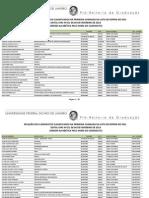 2013.1-SiSU-Primeira Chamada Da Lista de Espera - Ordem Ordem Alfabetica Geral