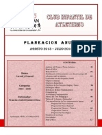 Plan Anual Escrito 2013-2014