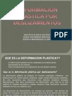 Deformacion Plastica Por Delizamientos