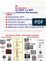 Bab 6 Teknik Mikroskopy SEM