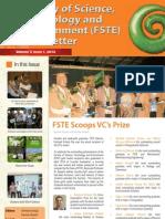 FSTE Newsletter April 2013