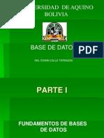 Bases de Datos - DeR