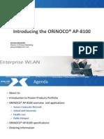 Public Webinar AP 8100 Presentation