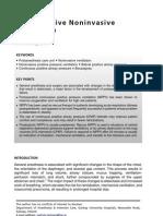 Postoperative Noninvasive Ventilation