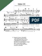 Salmo 121 - Primer Domingo Adviento- Ciclo A