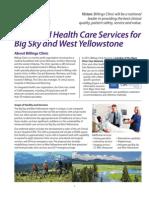 Billings Clinic proposal for Big Sky hospital