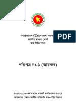Paripatra Circular 2012-13