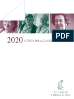 Future of Aged Care in AUS 2020