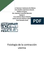 Contraccion uterina