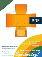 Oranginal Speakerdog Series by Ben the Ilustrator