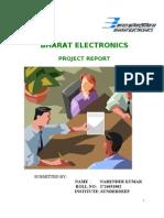 BEL, Ghaziabad Project Report