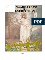 REINCARNATIONS ET RESURRECTION