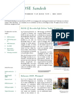 May 2009 Dutch Newsletter