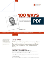 100 Ways to Succeed by Tom Peters3018