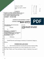 Bradley Ruderman SEC Complaint