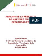 Análisis de la presencia de malware en las descargas P2P