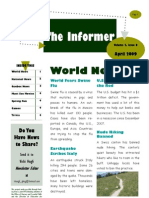 2009 April QELA Student Newsletter