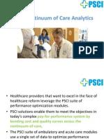 PSCI Continuum of Care Analytics