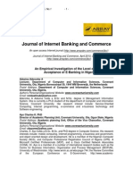 An Empirical Investigation of the Level of Users' Acceptance of E-Banking in Nigeria