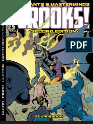 Mutants and Masterminds: Crooks 2nd edition | Nazi Germany