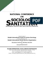 Sociology of Sanitation Volume I