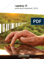 Customer-centric IT - Enterprise IT trends and investment 2013