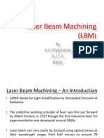 115573643 Laser Beam Machining LBM