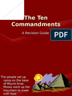 The Ten Commandments a Revision Guide the People Set