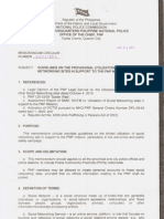 PNP Memorandum Circular 2011-001