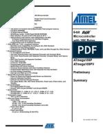 ATmega169P(v) Preliminary Summary - 8018S