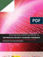 Information Security Taxonomy Handbook