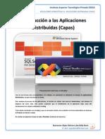 1) Aplicación Monolítica - Aplicación Distribuída (Capas)