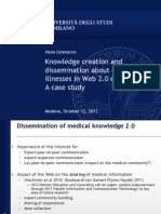 Knowledge creation and dissemination about contested illnesses in.ppt