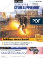 Building, Security & Architecture Supplement