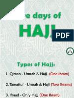 5 Days of Hajj