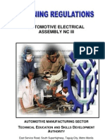 TR - Automotive Electrical Assembly NC III
