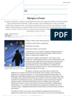 Europa o el caos | Internacional | EL PAÍS