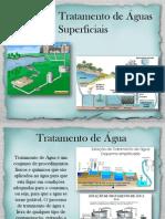 Etapas de tratamento de águas superficiais