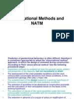 Observational Methods and NATM